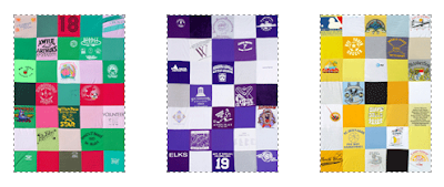 quilts made from T-shirts