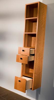bathroom cabinet, wall-mounted
