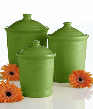 green canisters