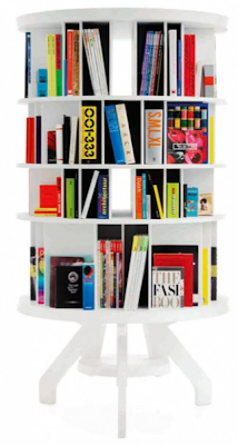 round bookcase