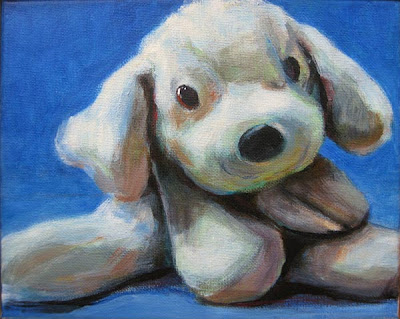 portrait of toy dog