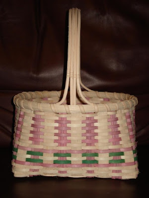 woven Easter basket