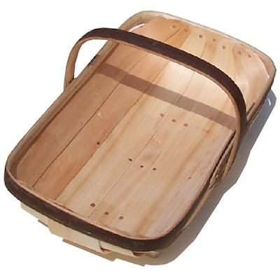 wooden trug