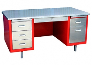 steel desk