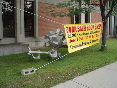 book sale banner sign
