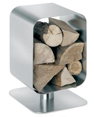 stainless steel wood rack