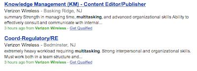 online ads calling for multitasking