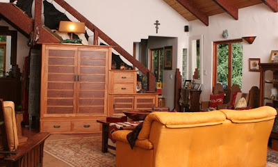 step tansu in room