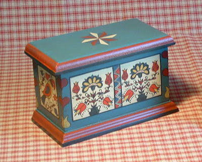 recipe box with historical design
