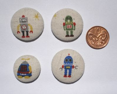 fabric-covered magnets with robots