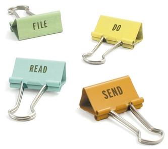 task clips: file, do, read, send