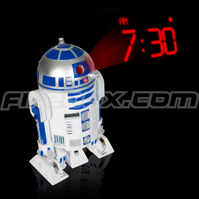 R2-D2 Projection Clock