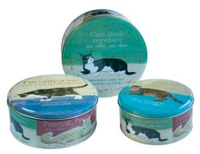 cats cake tins