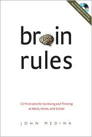 book cover, Brain Rules