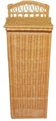 huche à pain - wicker bread basket for baguettes