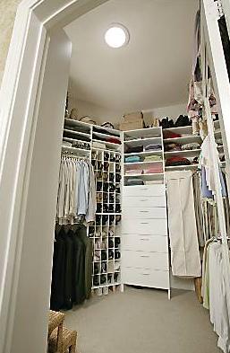 solar tube in closet