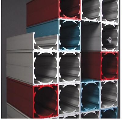 aluminum wine rack