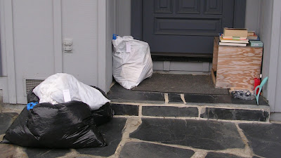 Freecycle items on the doorstep