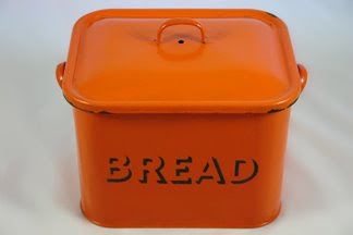 orange bread bin