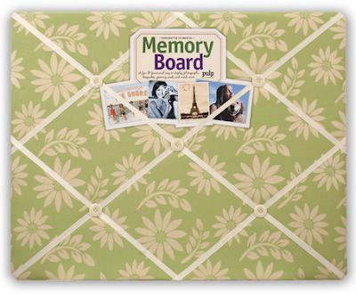 floral memo board