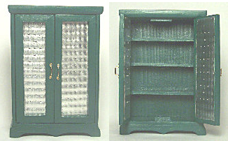 dollhouse miniature pie safe