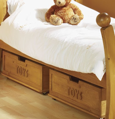 wood underbed storage boxes