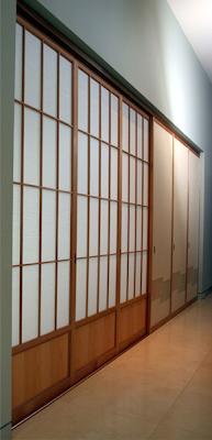 shoji sliding closet door
