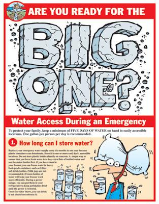 flier: water access during an emergency