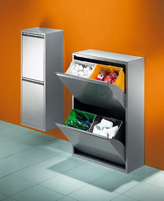 recycling bins - trash sorter