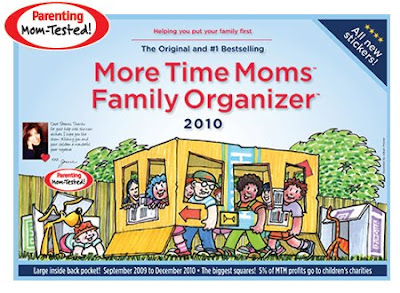 More Time Moms wall calendar / family organizer