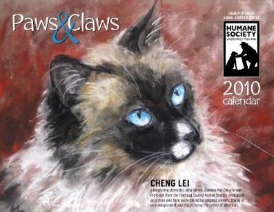 Paws & Claws 2010 humane society calendar