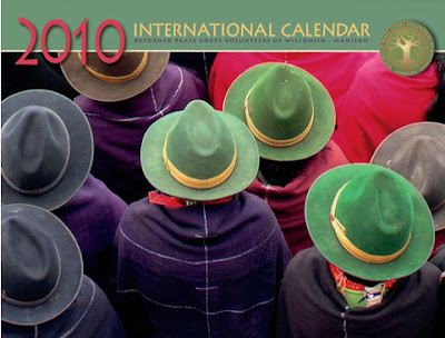 returned peace corps volunteer international calendar