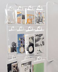 wall or door rack for hang-up bags
