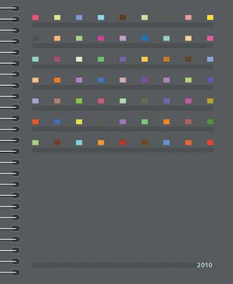 colour calendar 2010
