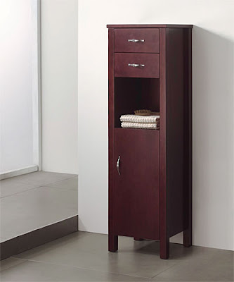 bathroom linen cabinet