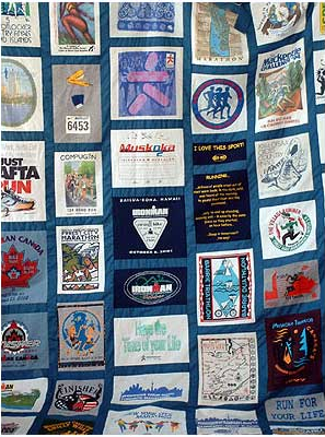 Learn How to Make a T Shirt Quilt - About