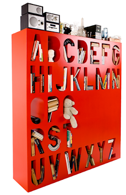 room divider that can also store books and more