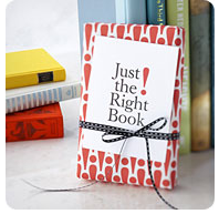 Just the Right Book logo