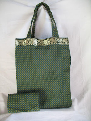 tote bags, folds small, Thai fabric
