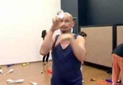 Ünlü Fransız jonglör Vincent Berhault