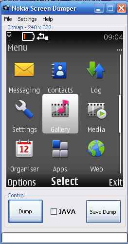 Nokia Screen Dumper 2.0