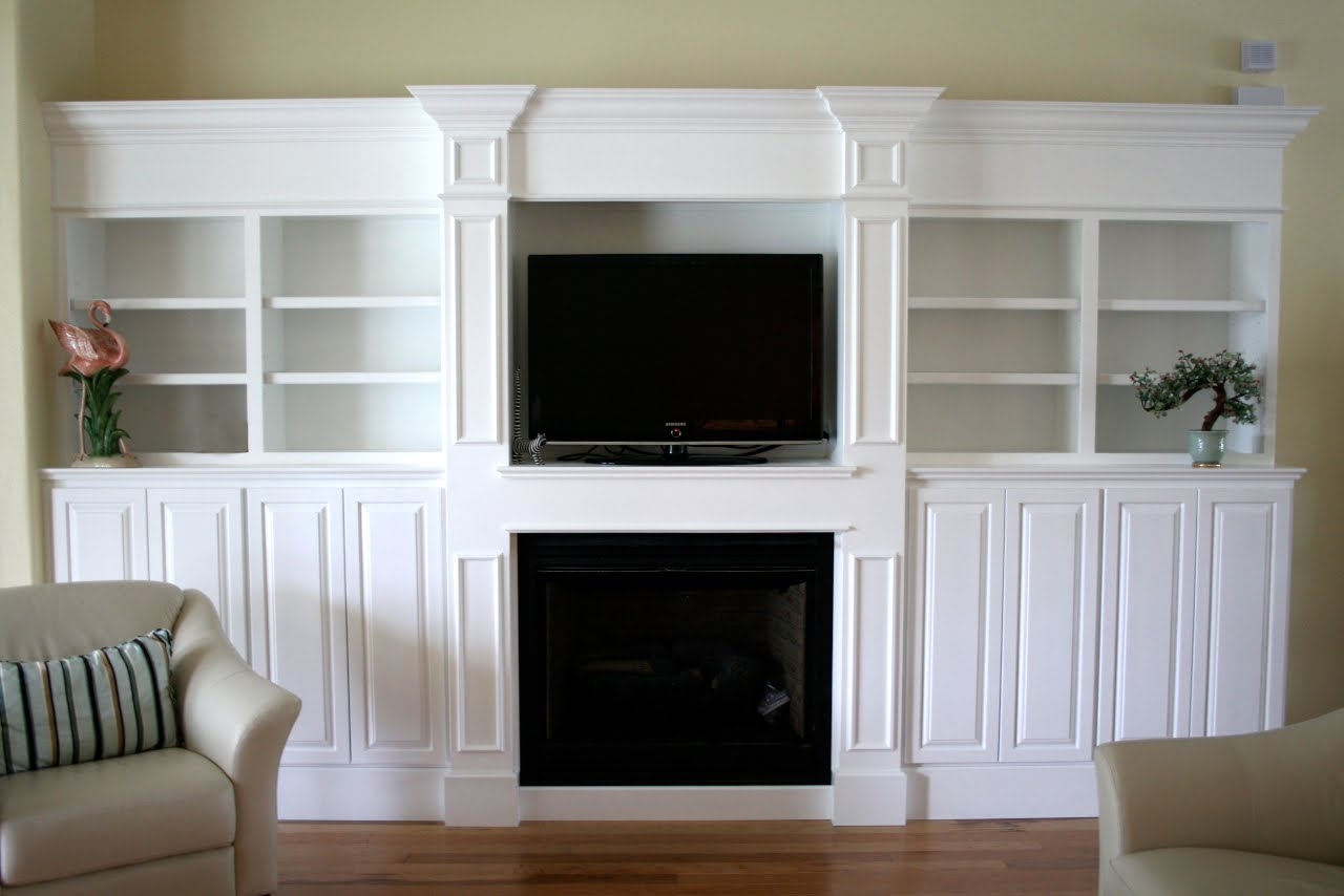 Built In Entertainment Center Design Ideas entertainment center with display shelf made from pallets built Custom Entertainment Centers