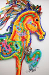 Saddlebred Horse handbeaded OOAK