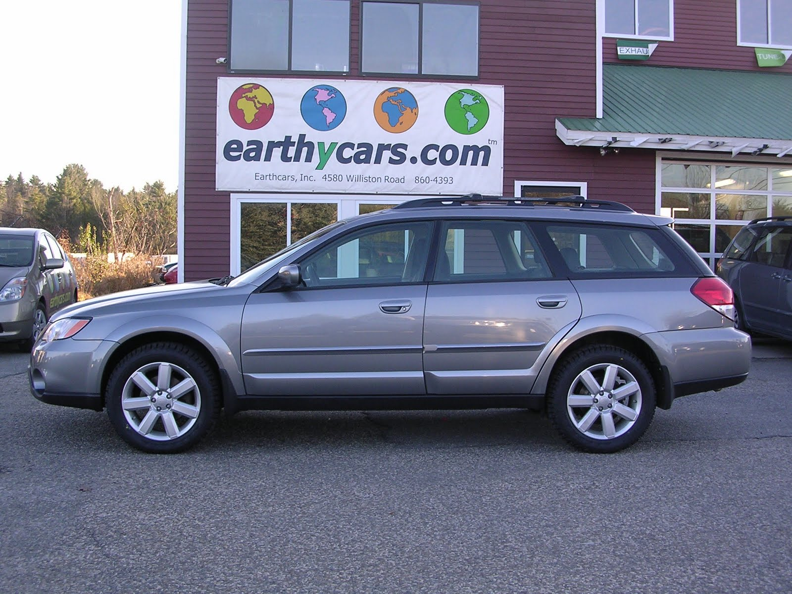 Subaru Ll Bean >> Earthy Cars Blog: EARTHY CAR OF THE WEEK: 2008 Subaru Outback 2.5i Limited L.L. Bean Edition