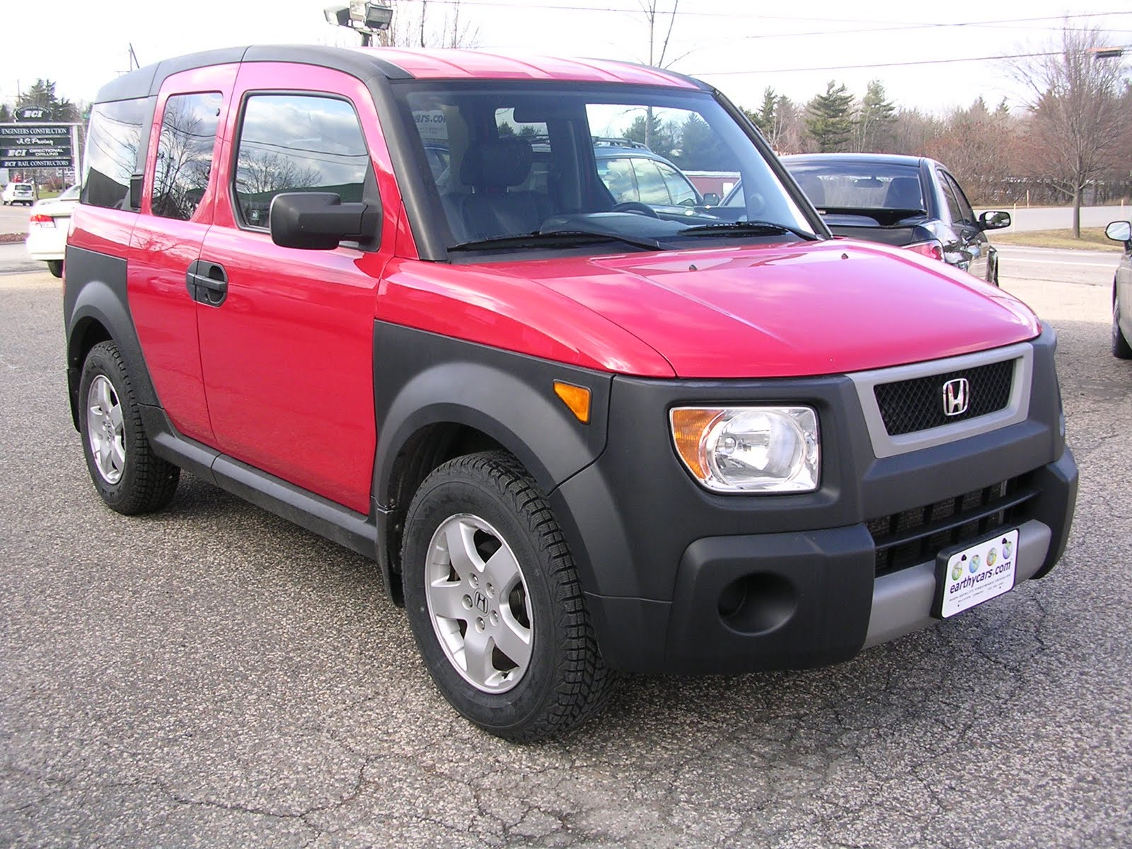 earthy cars blog 2005 honda element ex w side airbags 4wd red. Black Bedroom Furniture Sets. Home Design Ideas