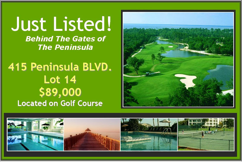 Golf Course Lot Listed in the prestigious gated golf/tennis bay  title=