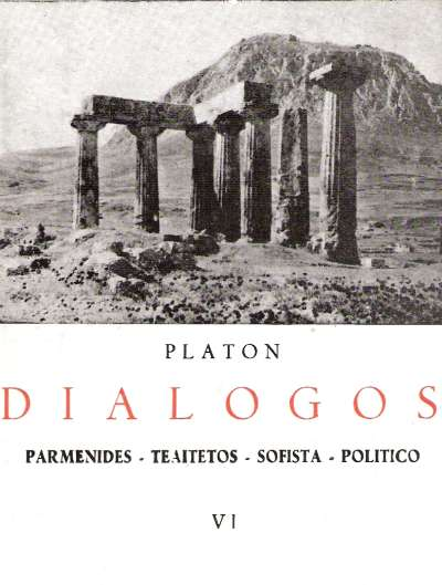 dialogo platon parmenides:
