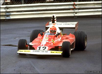 Equipe Ferrari de Formula 1 de 1975 by gettyimage