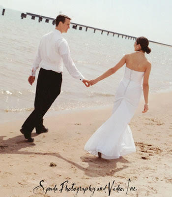 Grooms attire beach wedding