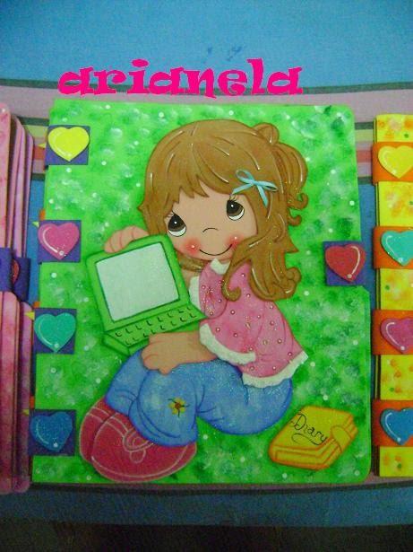 Carpetas de foami para niños - Imagui